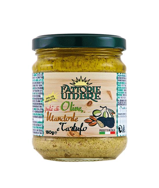Paté Olive Mandorle Tartufo - Fattorie Umbre