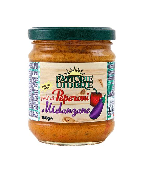 Paté Peperoni Melanzane - Fattorie Umbre