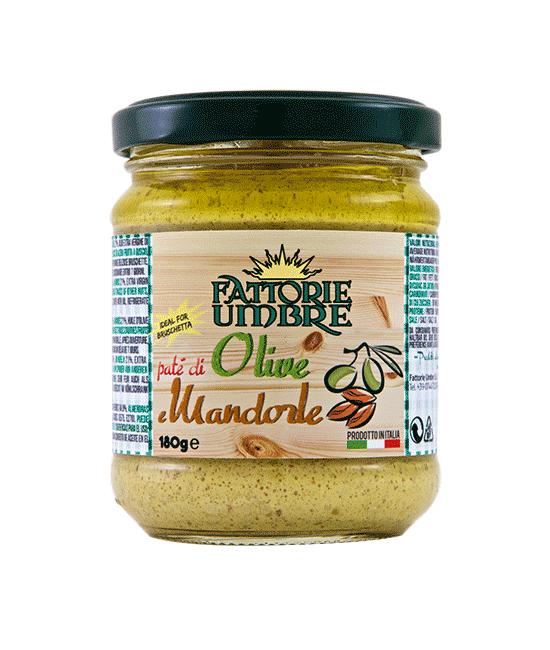 Paté di Olive e Mandorle - Fattorie Umbre