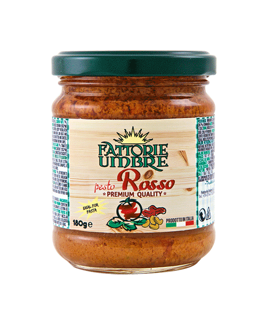 what is red pesto