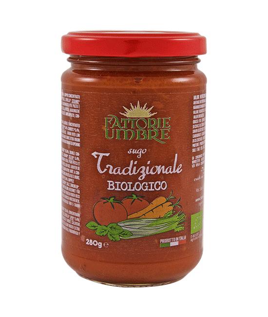 Sugo rosso tradizionale biologico - Fattorie Umbre
